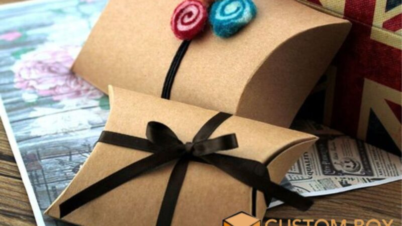 Switch To Kraft Pillow Boxes Now- The World Is Over With Toxins.